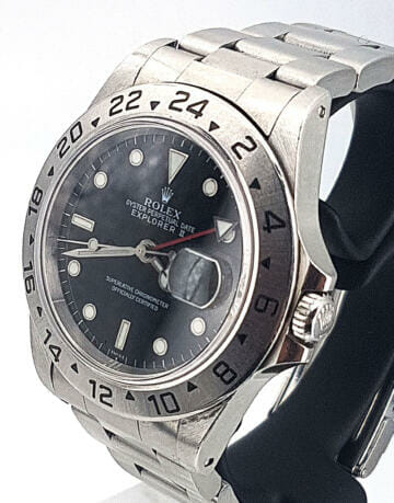 "ROLEX EXPLORER II 16570 ""ONLY SWISS"""