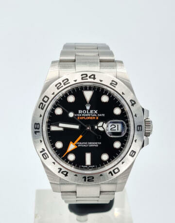 Rolex Explorer II Full Set 216570 2019