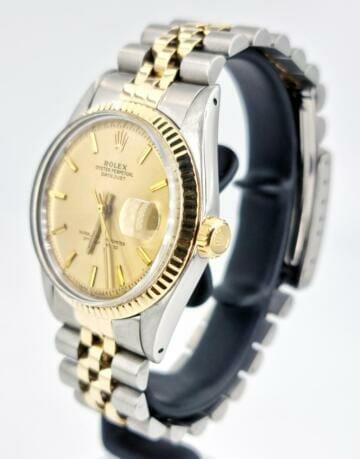 Rolex Datejust 1600 Acciaio e oro 1975