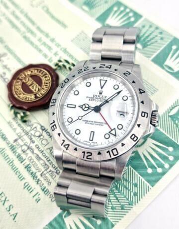 Rolex Explorer II, ref 16570, 2000